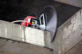 Стоимость резки бетона